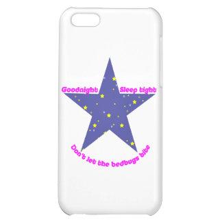 Goodnight Sleep Tight Bedbug Star iPhone 5C Case