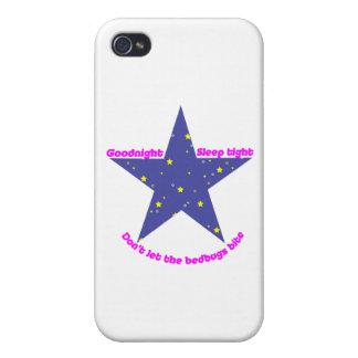 Goodnight Sleep Tight Bedbug Star iPhone 4/4S Cover