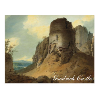 Goodrich Castle by Hugh William Williams Postcard