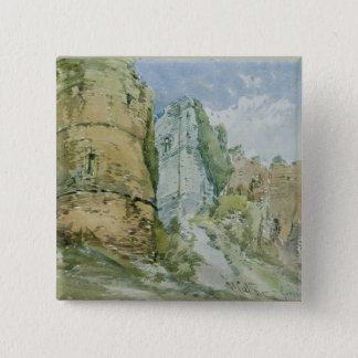 Goodrich Castle, Herefordshire Pinback Button