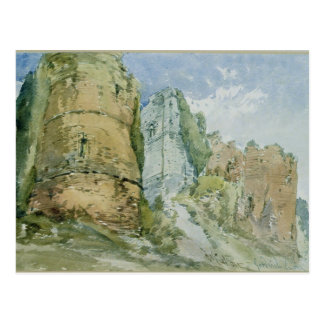 Goodrich Castle, Herefordshire Postcard