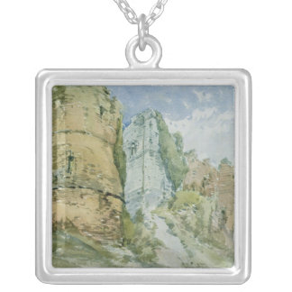 Goodrich Castle, Herefordshire Silver Plated Necklace