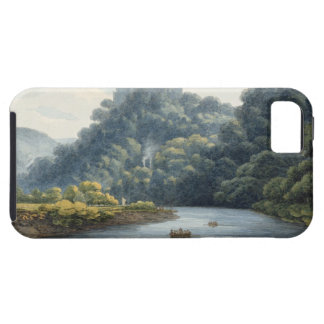 Goodrich Castle on the Wye (w/c, pen & ink, chalk iPhone SE/5/5s Case