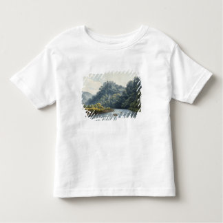 Goodrich Castle on the Wye (w/c, pen & ink, chalk Toddler T-shirt