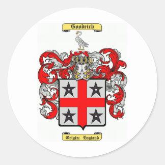 Goodrich Classic Round Sticker