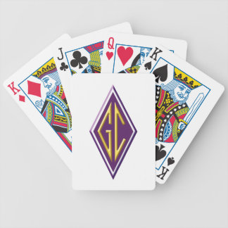 Goodrich Club playing cards