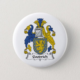 Goodrich Family Crest Pinback Button