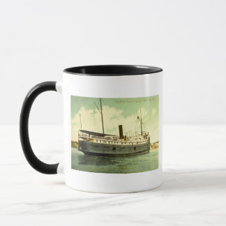 Goodrich Steamer Georgia, White Lake, Michigan Mug