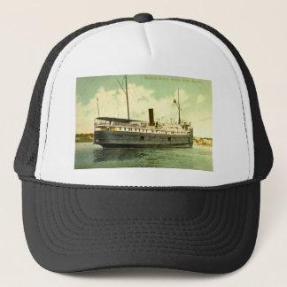 Goodrich Steamer Georgia, White Lake, Michigan Trucker Hat