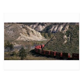 Goods Train RAILWAYS RHODE Island photography Postcard