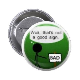 goodsign del botón pins