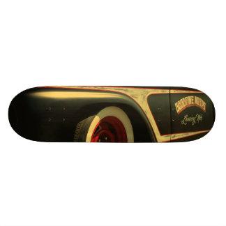 Goodtimes Motors Hotrod Truck Antiqued Custom Skate Board