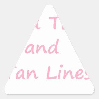 GoodTimes Pink Triangle Sticker
