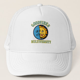 GoodVibes Multiversity trucker's hat