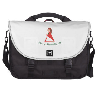 Goodwill To All Laptop Commuter Bag
