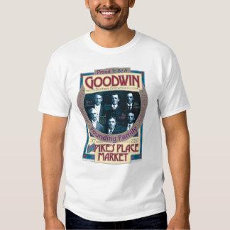 Goodwin/camiseta conmemorativa del mercado de los poleras