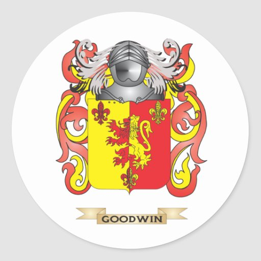 Goodwin Coat of Arms (Family Crest) Stickers