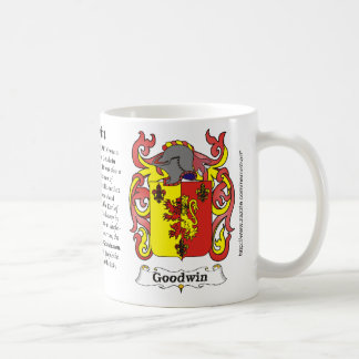 Goodwin Family Coat of Arms mug