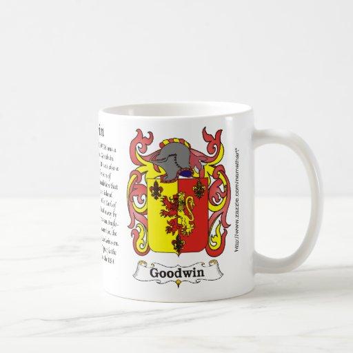 Goodwin Family Coat of Arms mug