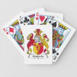 Goodwin Family Crest Bicycle Poker Deck