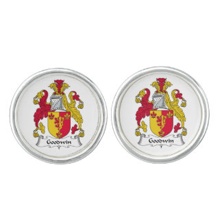 Goodwin Family Crest Cufflinks