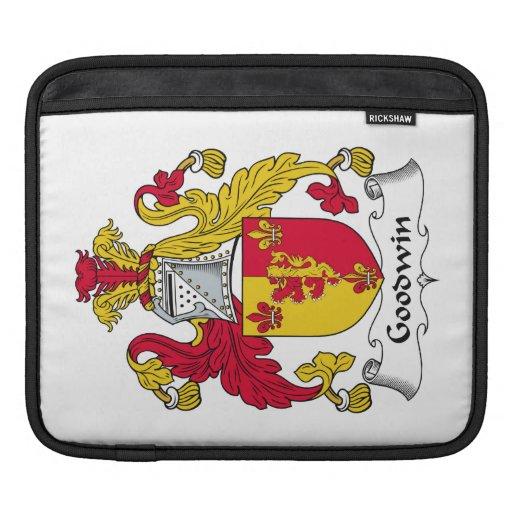 Goodwin Family Crest iPad Sleeves