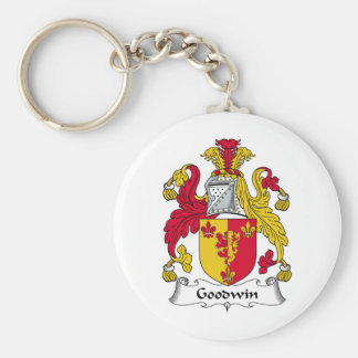 Goodwin Family Crest Keychains