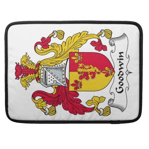 Goodwin Family Crest MacBook Pro Sleeve