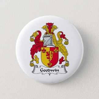 Goodwin Family Crest Pinback Button
