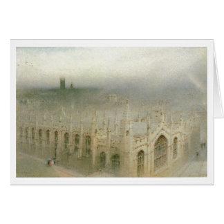 Goodwin, lluvia del cielo, todas las almas, arte tarjeta de felicitación