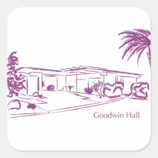 Goodwin Colcomanias Cuadradas Personalizadas