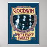 Goodwin/Pikes Market commemorative POSTER