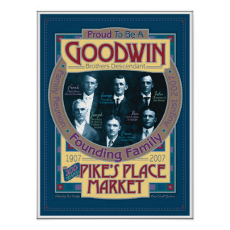 Goodwin/POSTER conmemorativo del mercado de los lu Póster