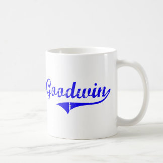 Goodwin Surname Classic Style Coffee Mug