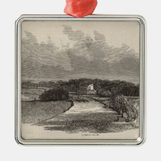 Goodwood Races: the Course Metal Ornament