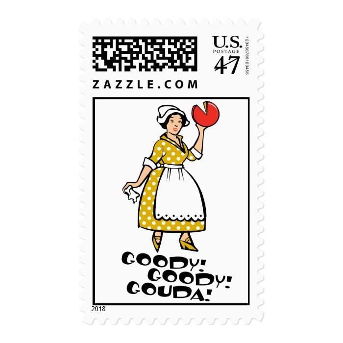 Goody! Goody! Gouda! Postage Stamp