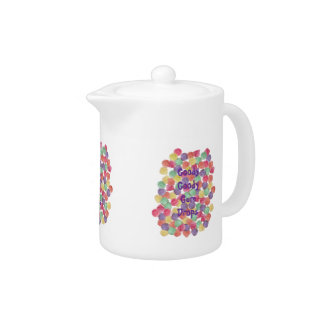 Goody Goody Gum Drops 11 oz. Teapot