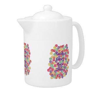 Goody Goody Gum Drops 44 oz Teapot