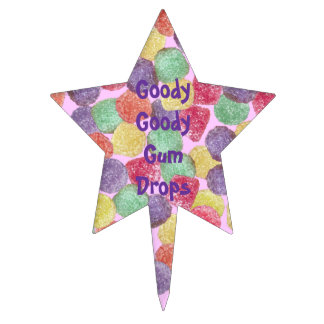 Goody Goody Gum Drops Cake Pick