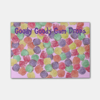 Goody Goody Gum Drops Notes Post-it® Notes