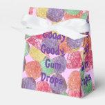 Goody Goody Gum Drops Tent Box Party Favor Box