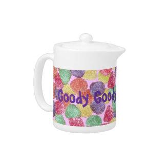 Goody Goody Gum Drops Wrap 11 oz. Teapot