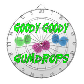 Goody Goody Gumdrops Dartboard With Darts