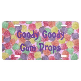 Goody Goody Gumdrops License Plate