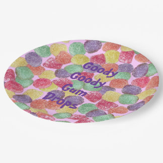 Goody Goody Gumdrops Paper Plate