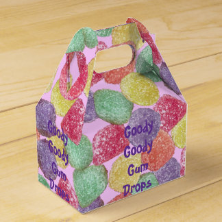 Goody Goody Gumdrops Party Favor Box