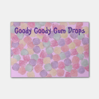 Goody Goody Gumdrops Post-it Notes
