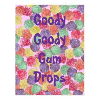 Goody Goody Gumdrops Postcard