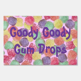 Goody Goody Gumdrops Sign