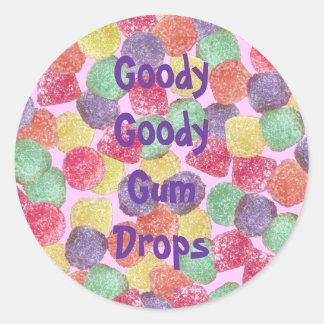 Goody Goody Gumdrops Classic Round Sticker